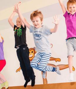 Pohybovka pre deti 3-4 rokov